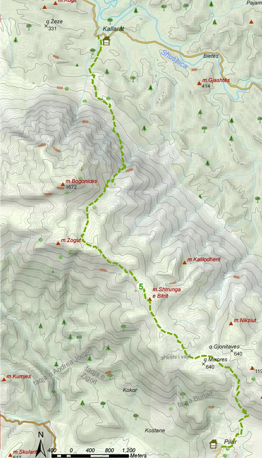 Hiking Trails in Himara Region page 19