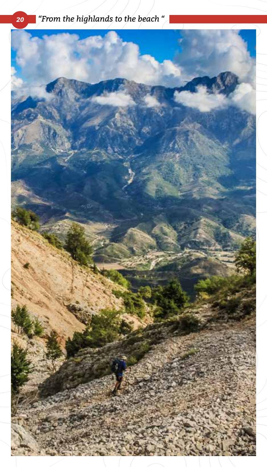 Hiking Trails in Himara Region page 20