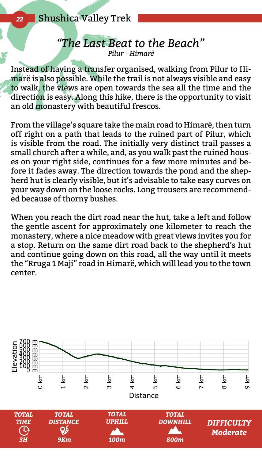 Hiking Trails in Himara Region page 22