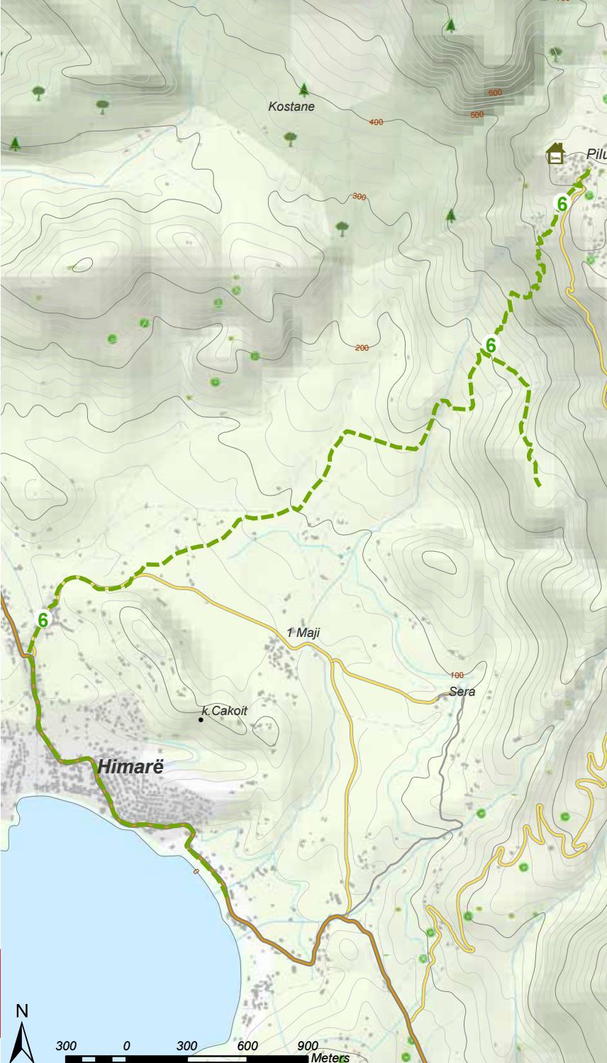 Hiking Trails in Himara Region page 23