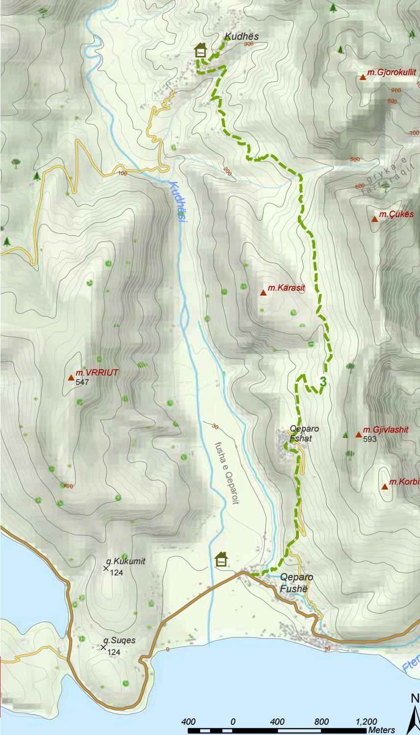 Hiking Trails in Himara Region page 27