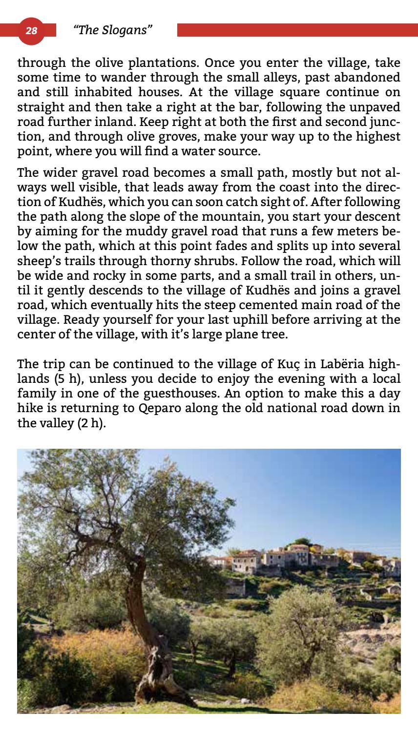 Hiking Trails in Himara Region page 28