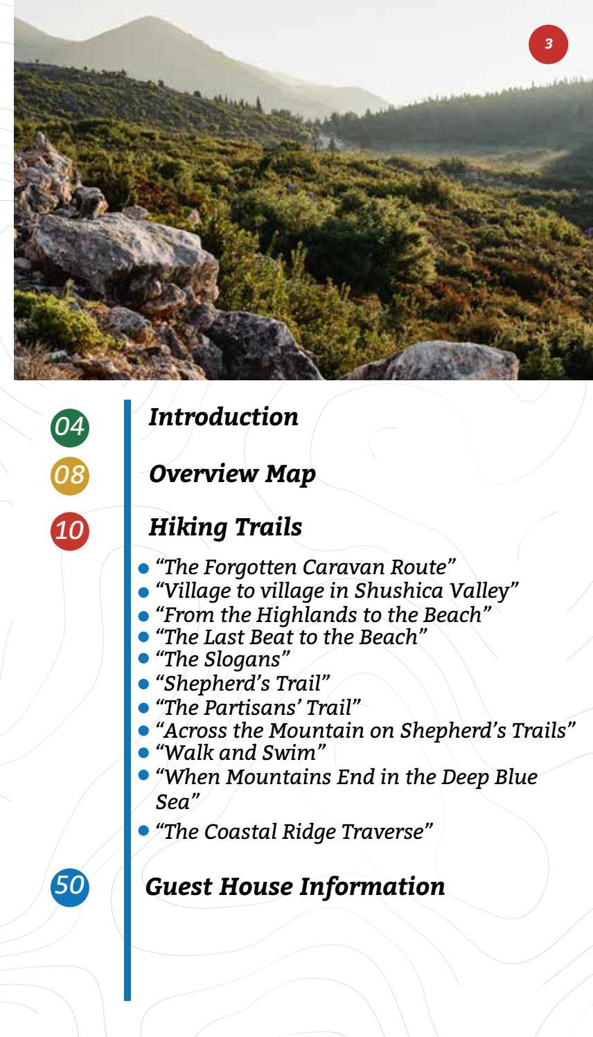 Hiking Trails in Himara Region page 3