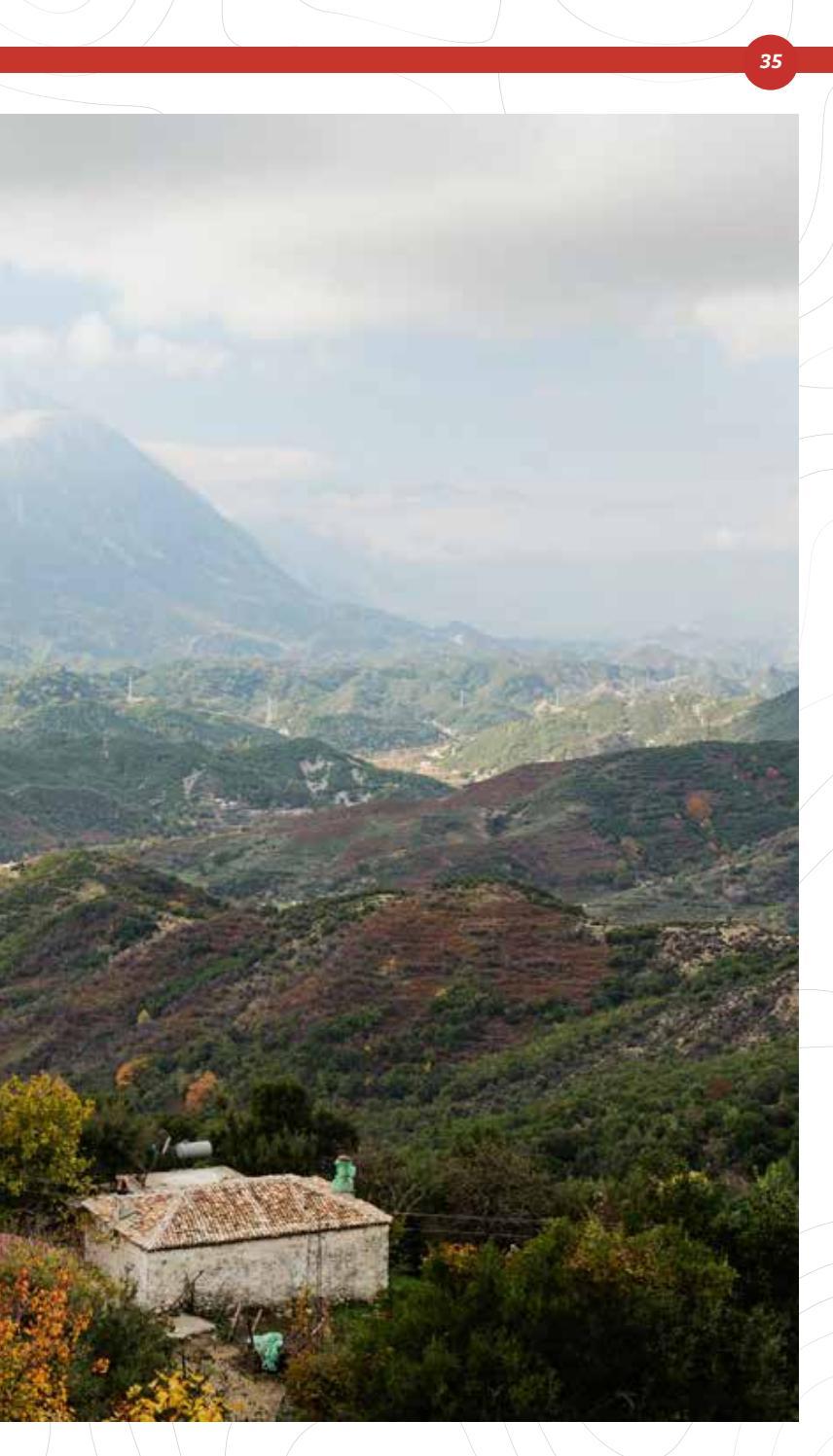 Hiking Trails in Himara Region page 35