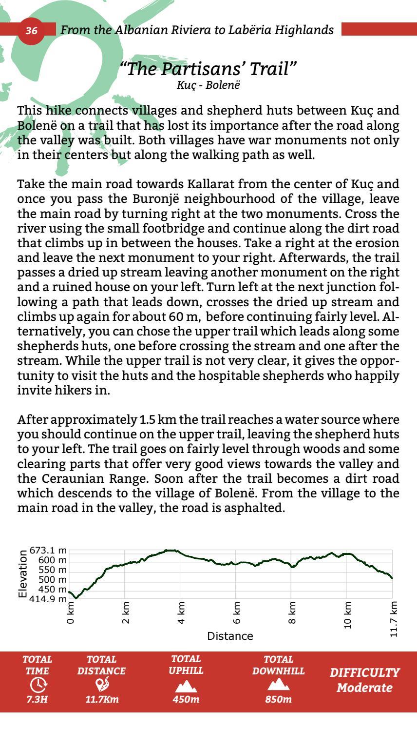 Hiking Trails in Himara Region page 36