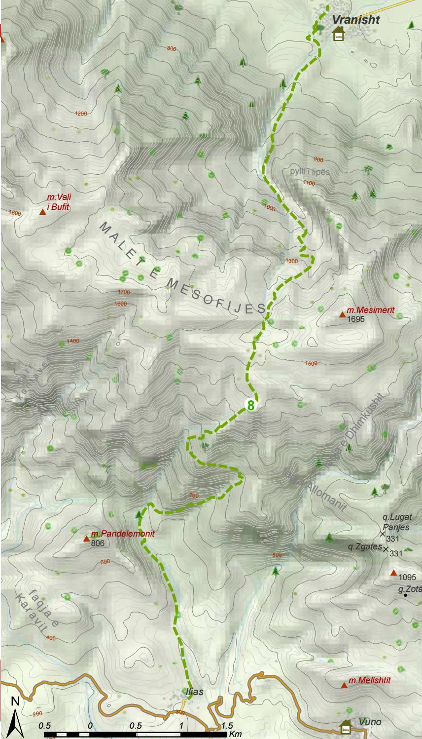 Hiking Trails in Himara Region page 41