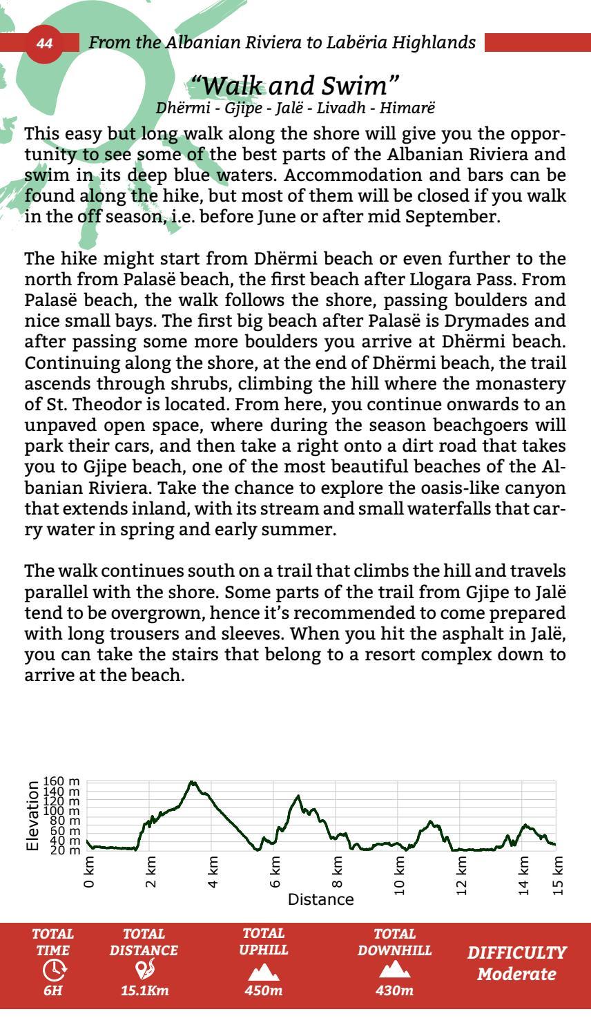 Hiking Trails in Himara Region page 44