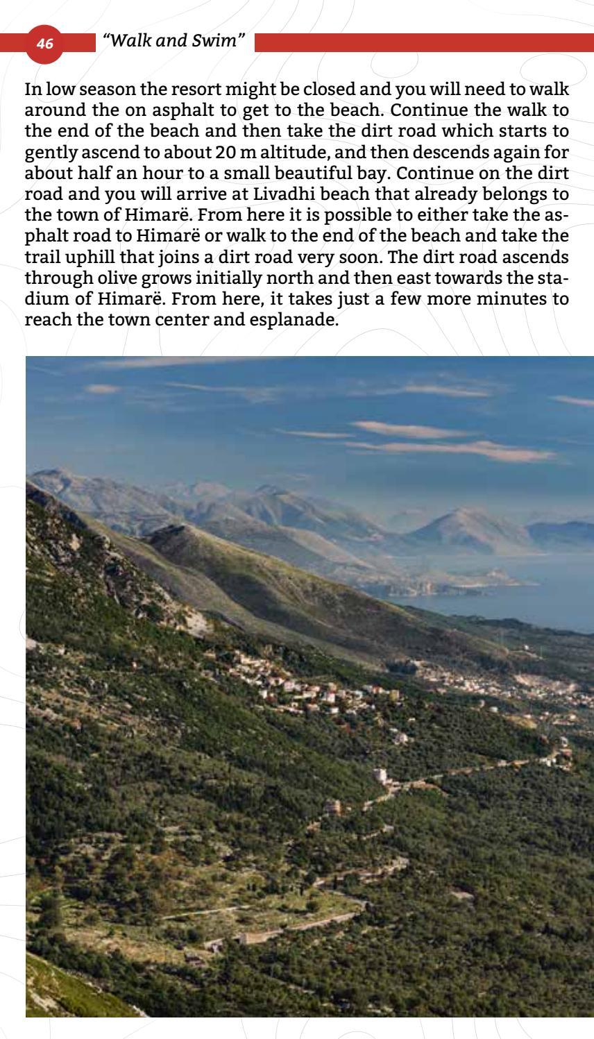 Hiking Trails in Himara Region page 46