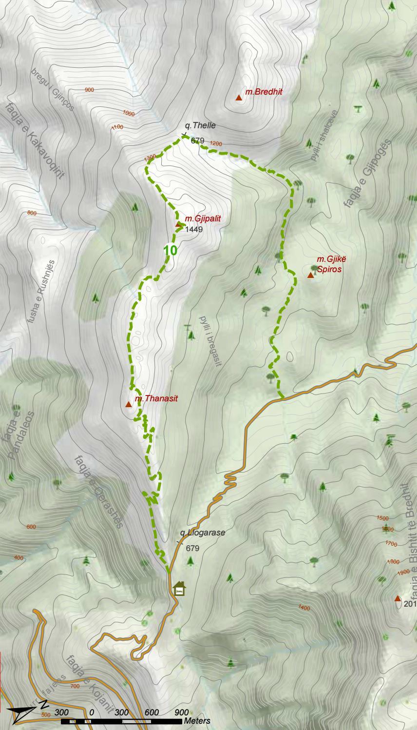 Hiking Trails in Himara Region page 49