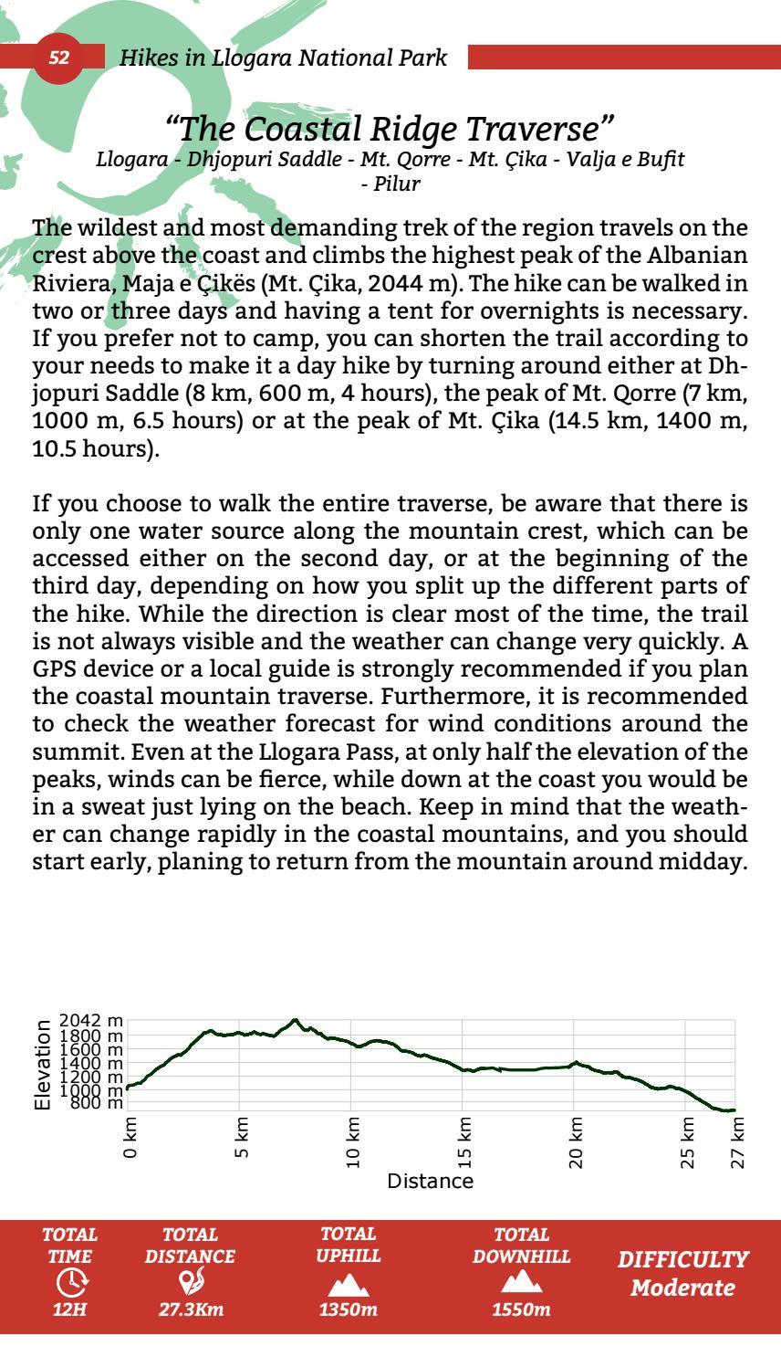 Hiking Trails in Himara Region page 52