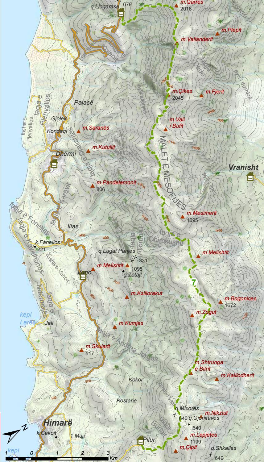 Hiking Trails in Himara Region page 53