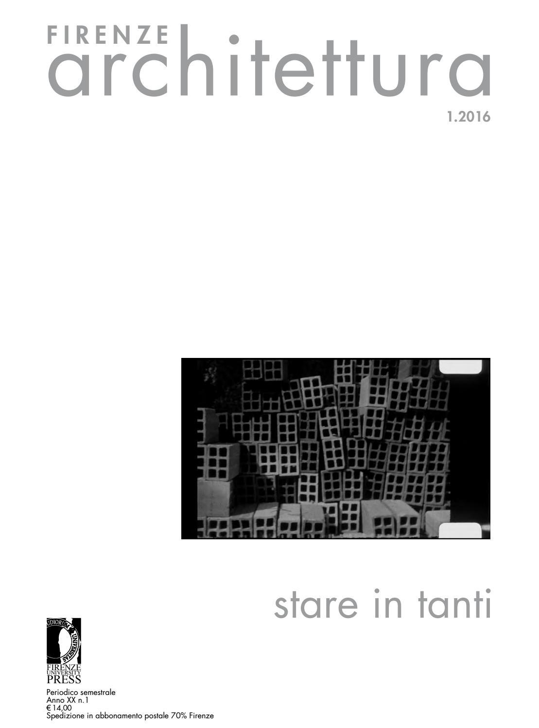 Firenze architettura 2016 1 by dida issuu for Architettura olandese