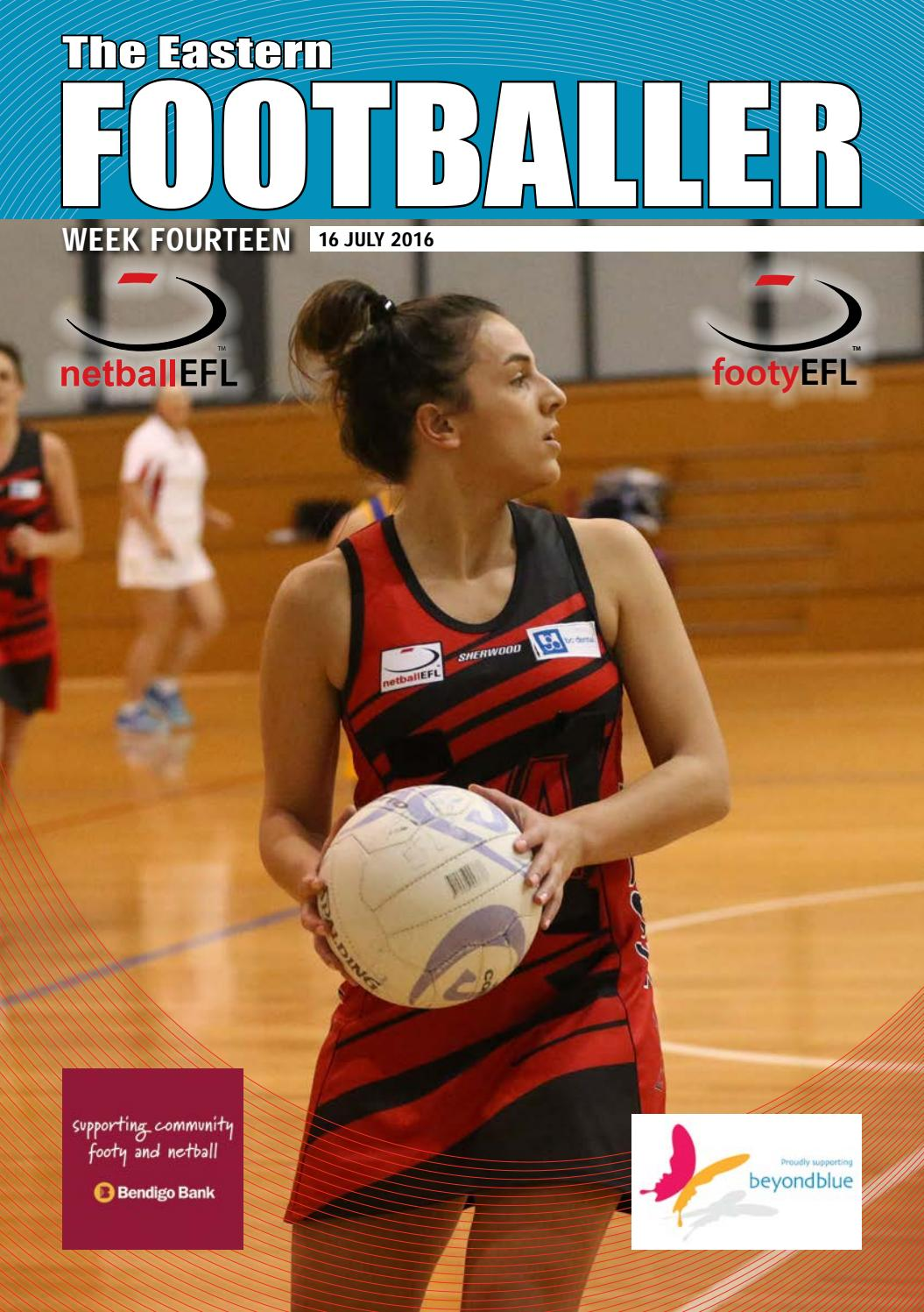 The Eastern Footballer Week 14 By Football League Issuu Little Things She Needs Chinny 6l Navy Tsn0001299c0035 38