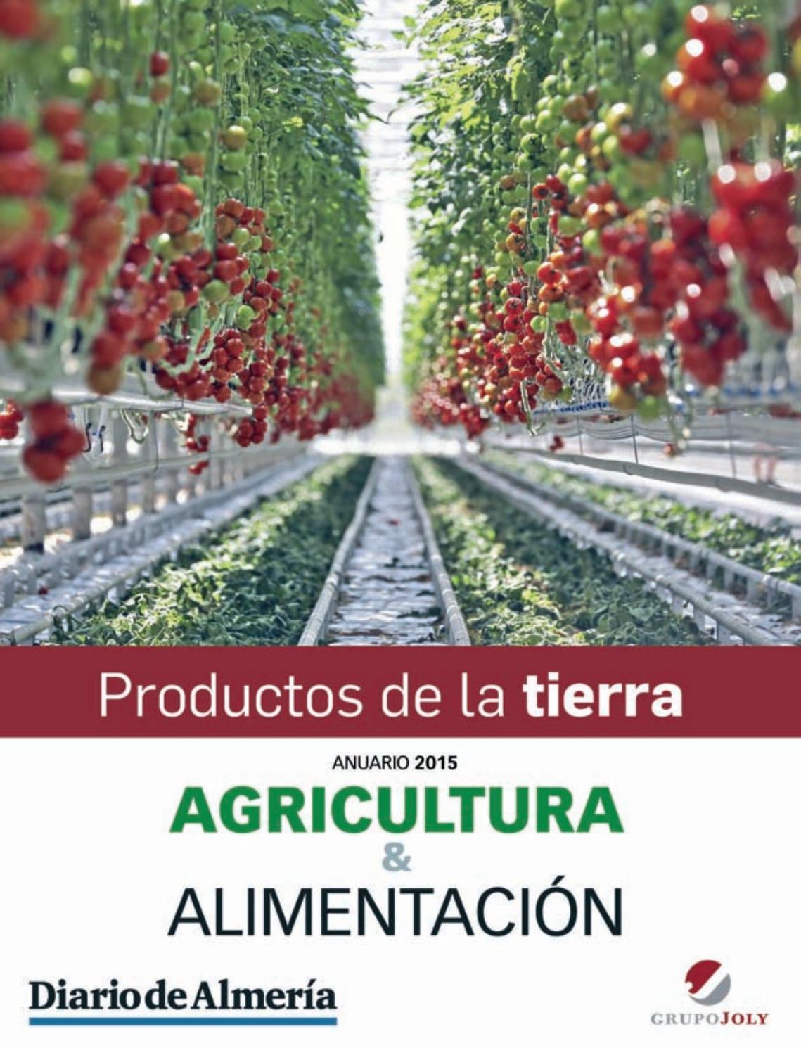 Anuario 2015 Agricultura Y Alimentación By Jolydigital Issuu