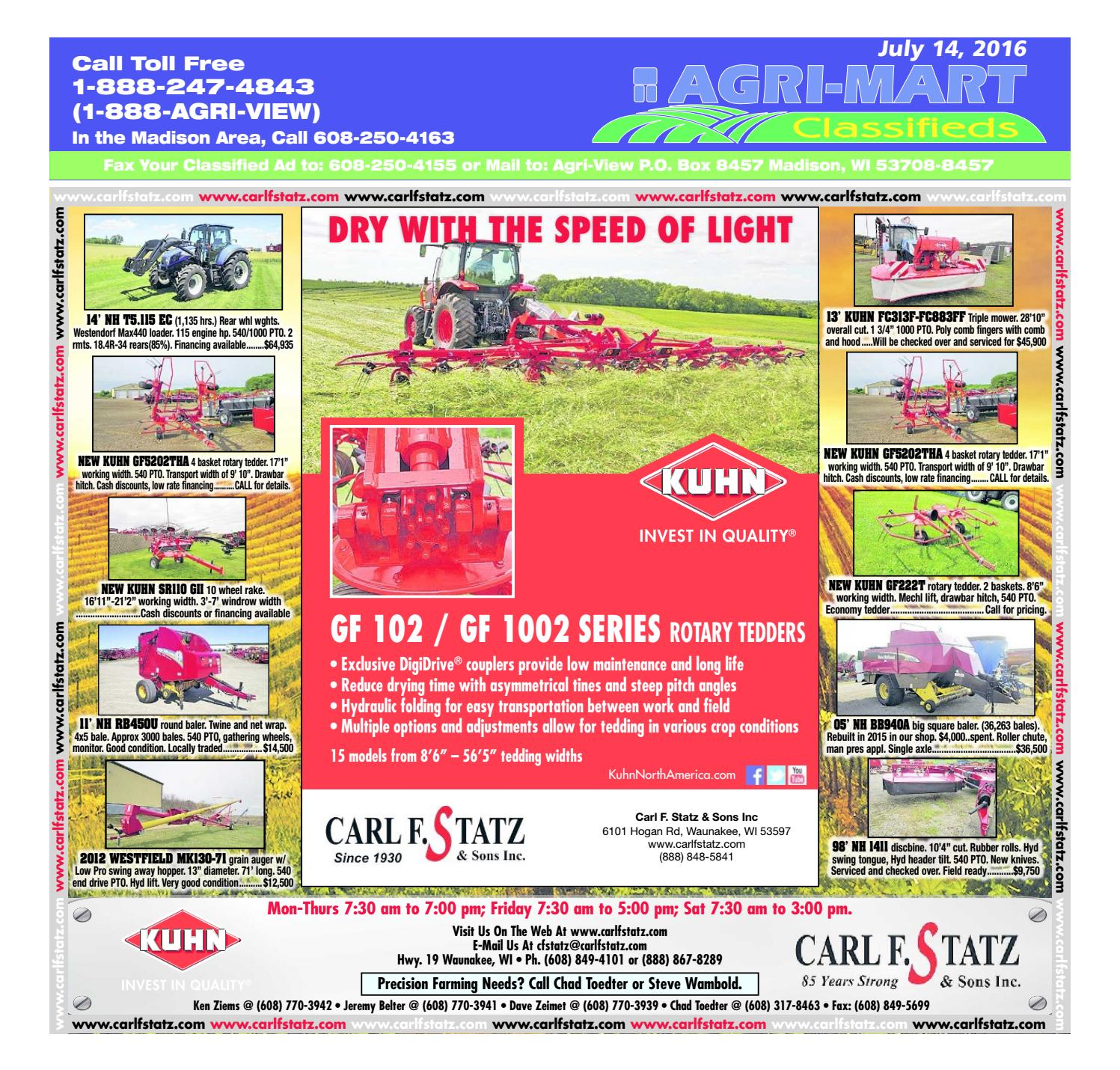 July 14, 2016 Agri-Mart by Madison com - issuu