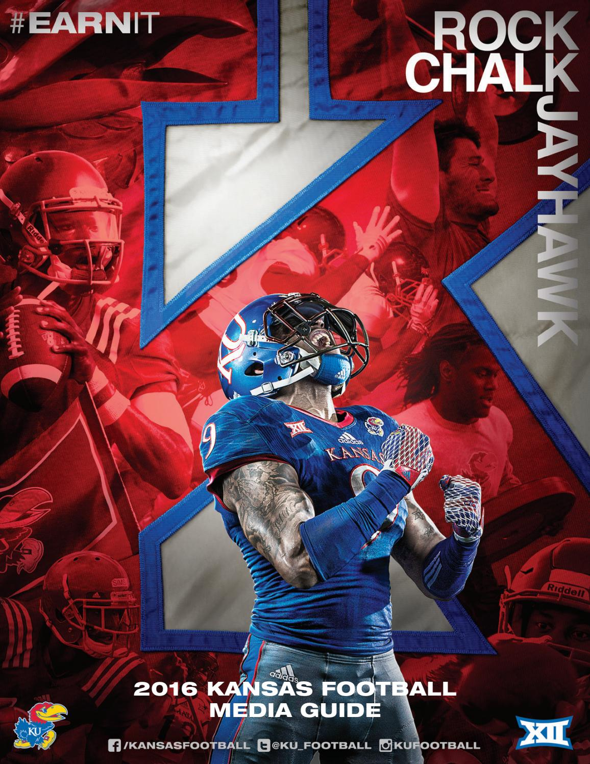 2016 KU Football Media Guide by Kansas Athletics - issuu e462f85c1