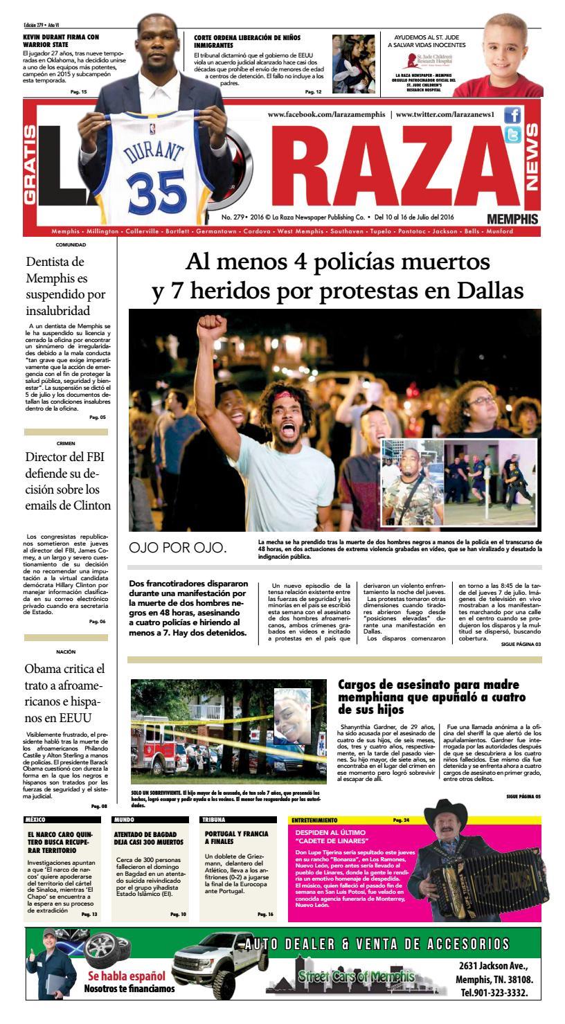 La Raza Newspaper, Memphis, TN. by Nancy Águila - issuu