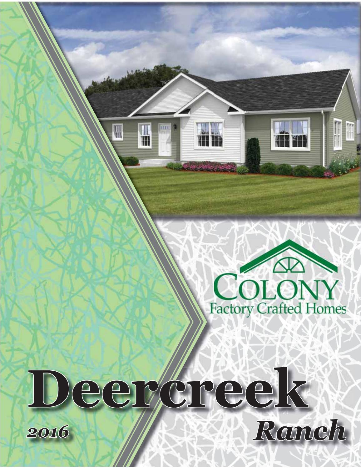 colony homes deercreek ranch 2016 by the commodore