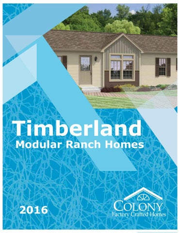 Colony - Timblerland Modular Ranch Homes 2016 by The ... on