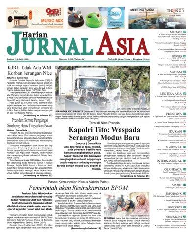 Harian Jurnal Asia Edisi Sabtu 82f87aedc9
