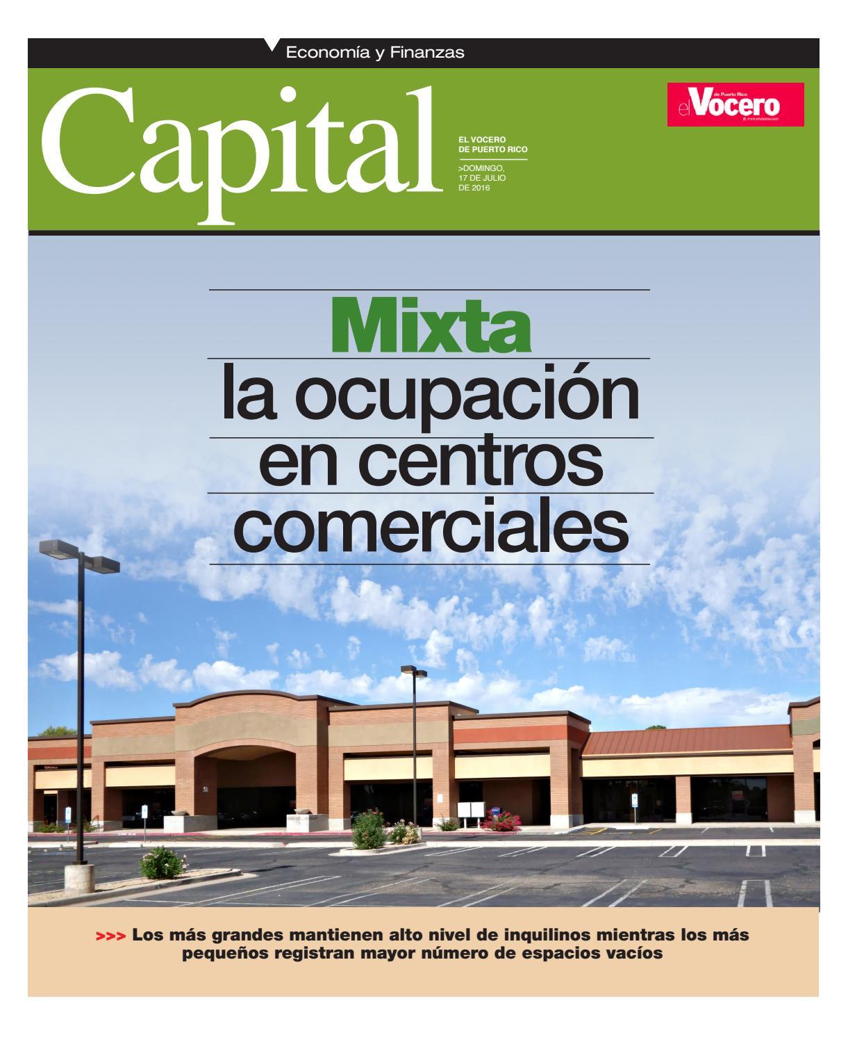 Revista Capital 17-7-2016 by El Vocero de Puerto Rico - issuu