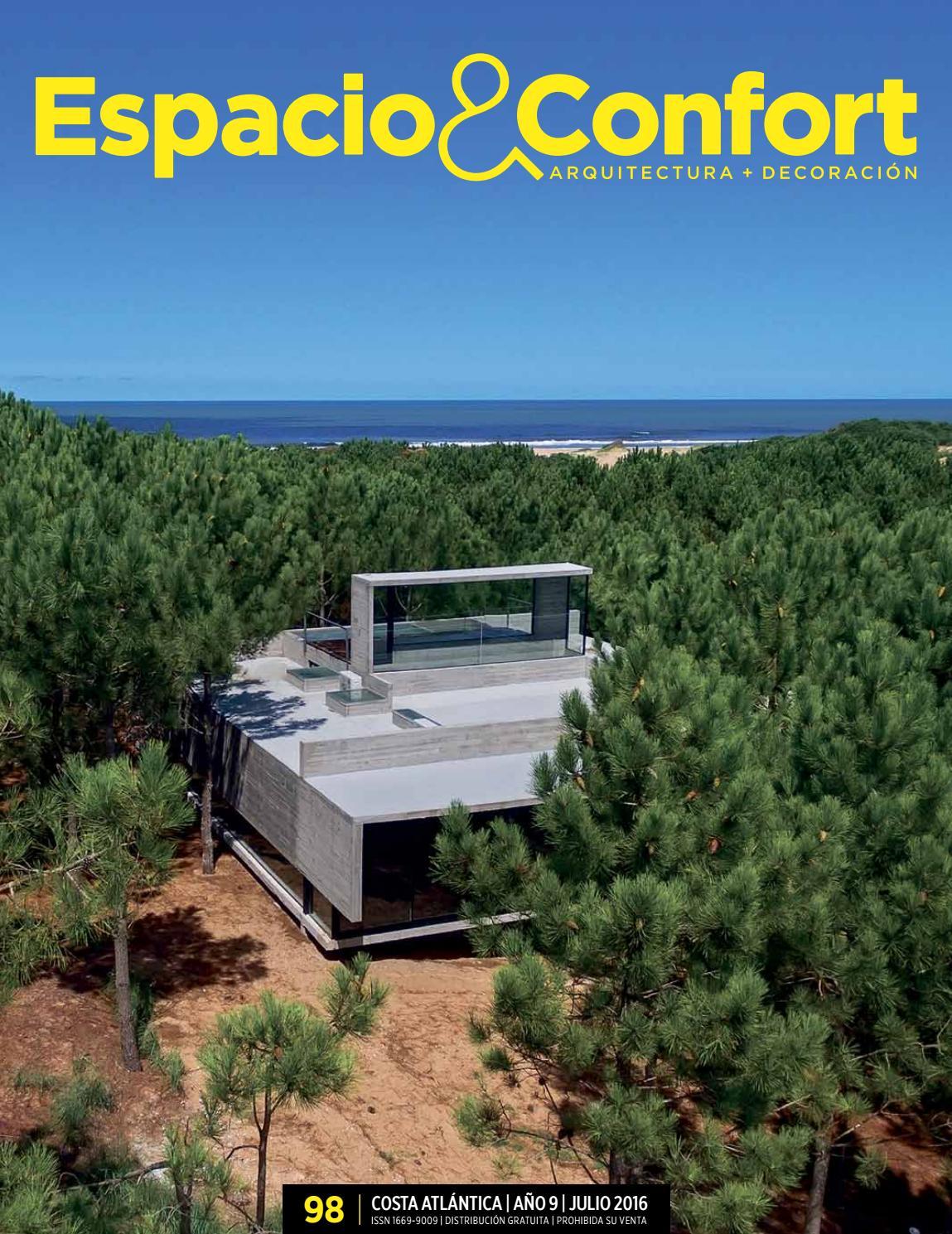 98 Costa Julio 2016 By Revista Espacio Confort Arquitectura  # Muebles Luberto Mdp