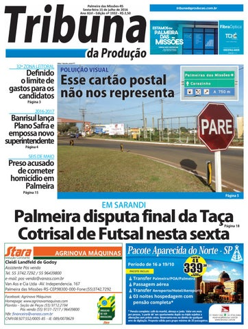 15 07 2016 by Tribuna da Produção - issuu 4a2e58ba97bd1