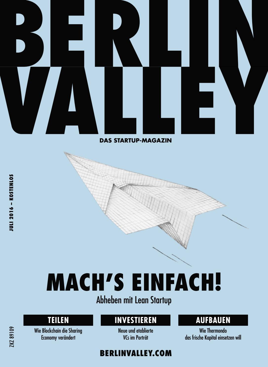 Berlin Valley 16 - July 2016 by NKF Media - issuu