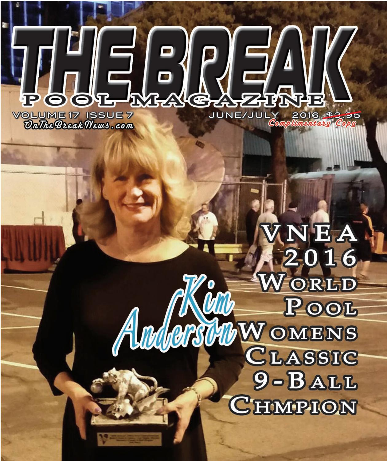 the break pool magazine june july issue 2016 by the break issuu