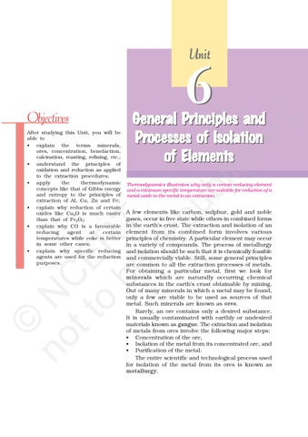 Ncert general principles of isolation of elements by gsk issuu page 1 ccuart Choice Image