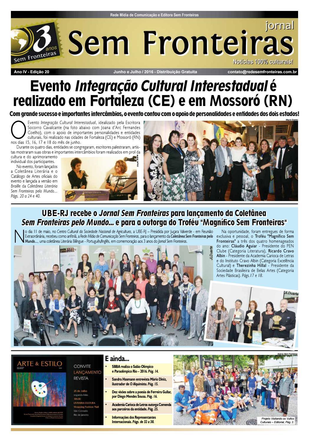 431f0a2277 Jornal Sem Fronteiras - Edição junho-julho 16 by Dyandreia Portugal - issuu