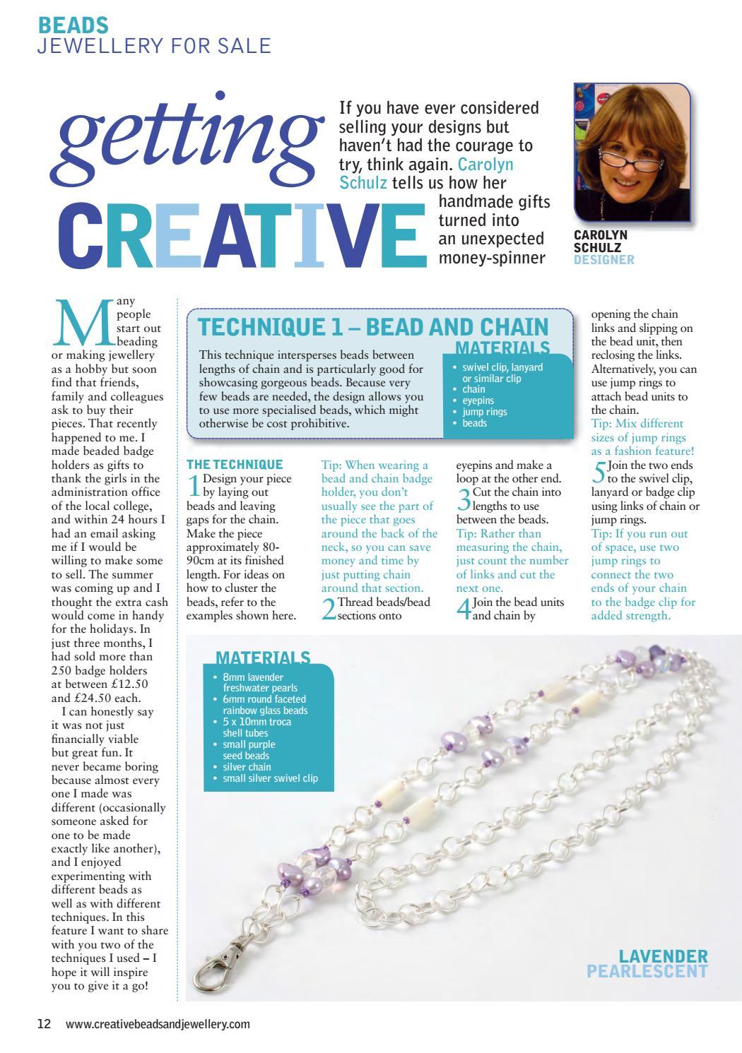 Creative Beads & Jewellery 1 by Practical Publishing - issuu