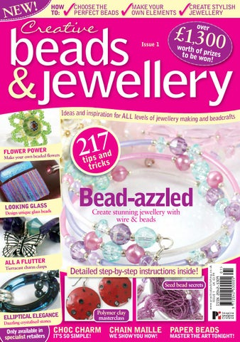 Risultati immagini per creative beads and  jewellry issue 16