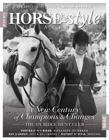 e49579fc73b43 Horse & Style Magazine July/August 2016 by Horse & Style Magazine ...