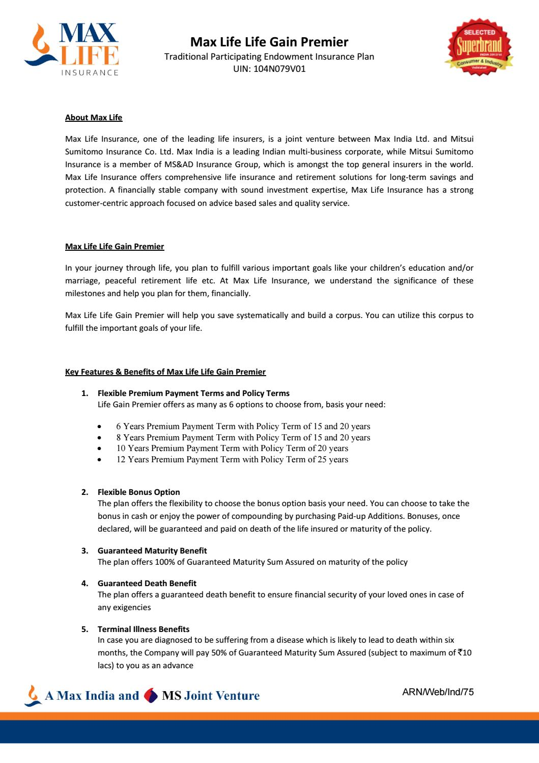 Max Life Insurance Policy Cancellation Form - clips-khrime
