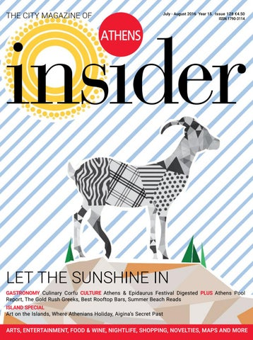 38fe16280b09 Athens Insider 128 July 2016 by Insider Publications - issuu