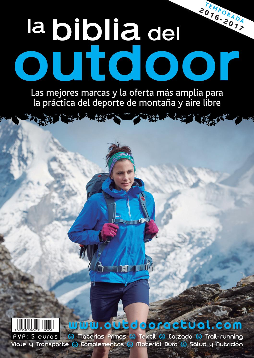 promo code 82af2 985e6 La Biblia del Outdoor 2016-17 by Outdoor Actual - issuu
