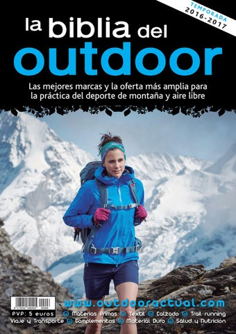 06e236dfc La Biblia del Outdoor 2015-16 by Outdoor Actual - issuu
