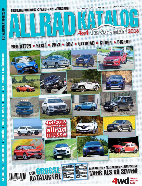 Allradkatalog 2016 by A&W Verlag GmbH issuu