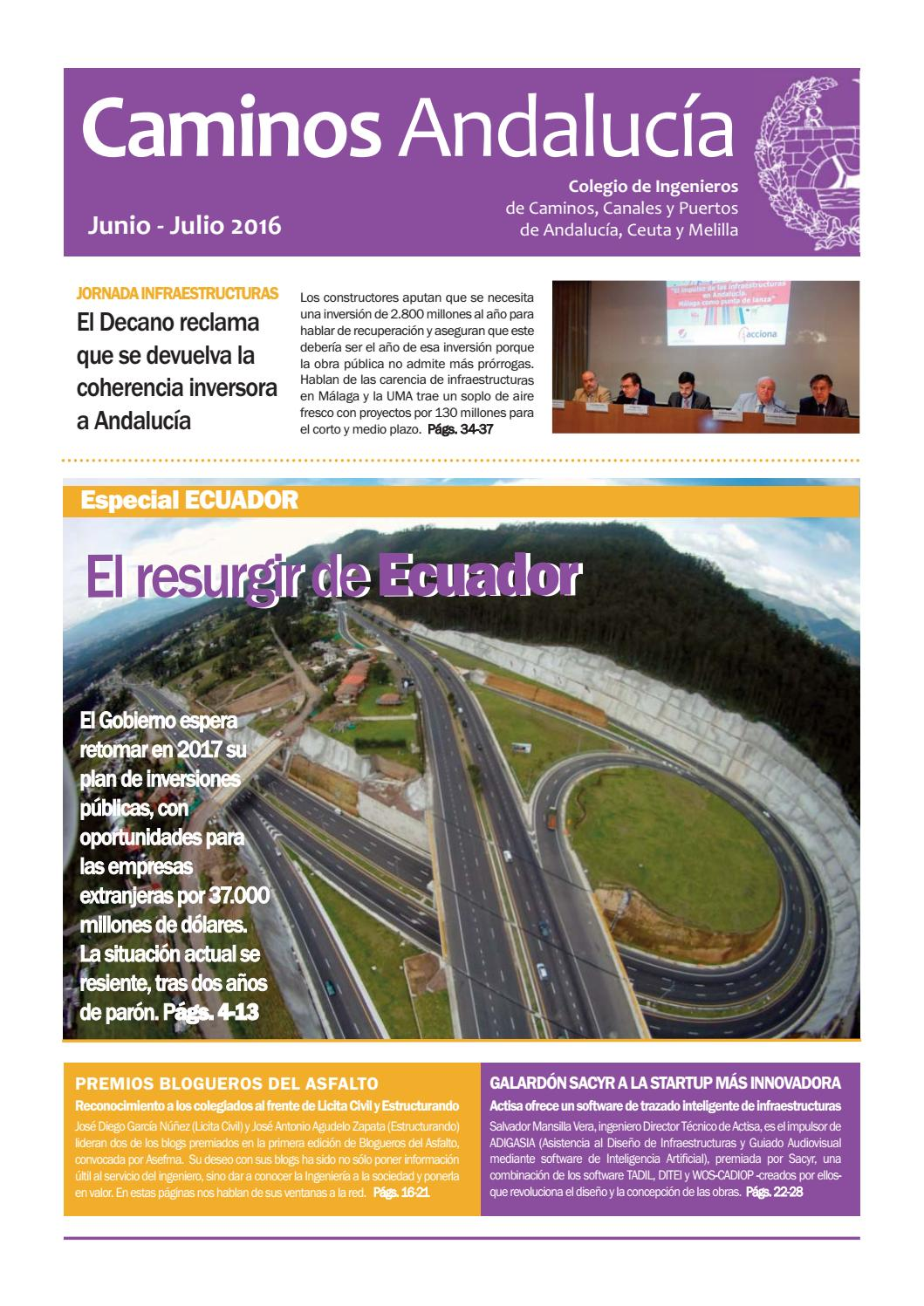 Caminos Andalucía Junio-Julio 2016 by CICCP Andalucia - issuu