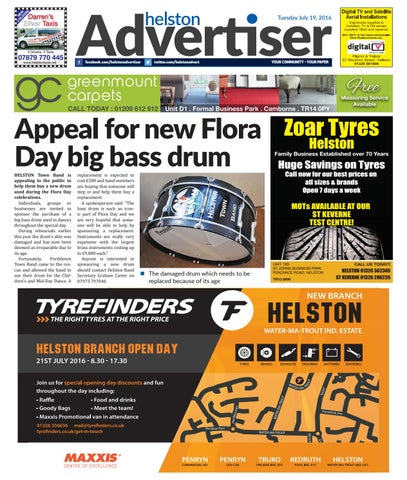 a89905d4ab5 Helston Advertiser - July 19th 2016 by Helston Advertiser - issuu