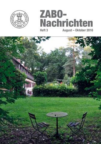ZABO Nachrichten 2016: Heft 3 By Vorstadtverein Zabo E.V.   Issuu