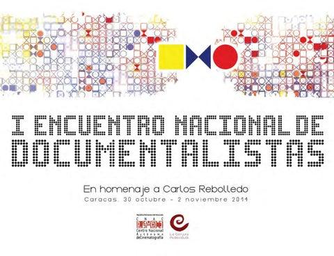 Biblioteca CNAC   I Encuentro Nacional de Documentalistas by ... ef5bb0a90b5f1