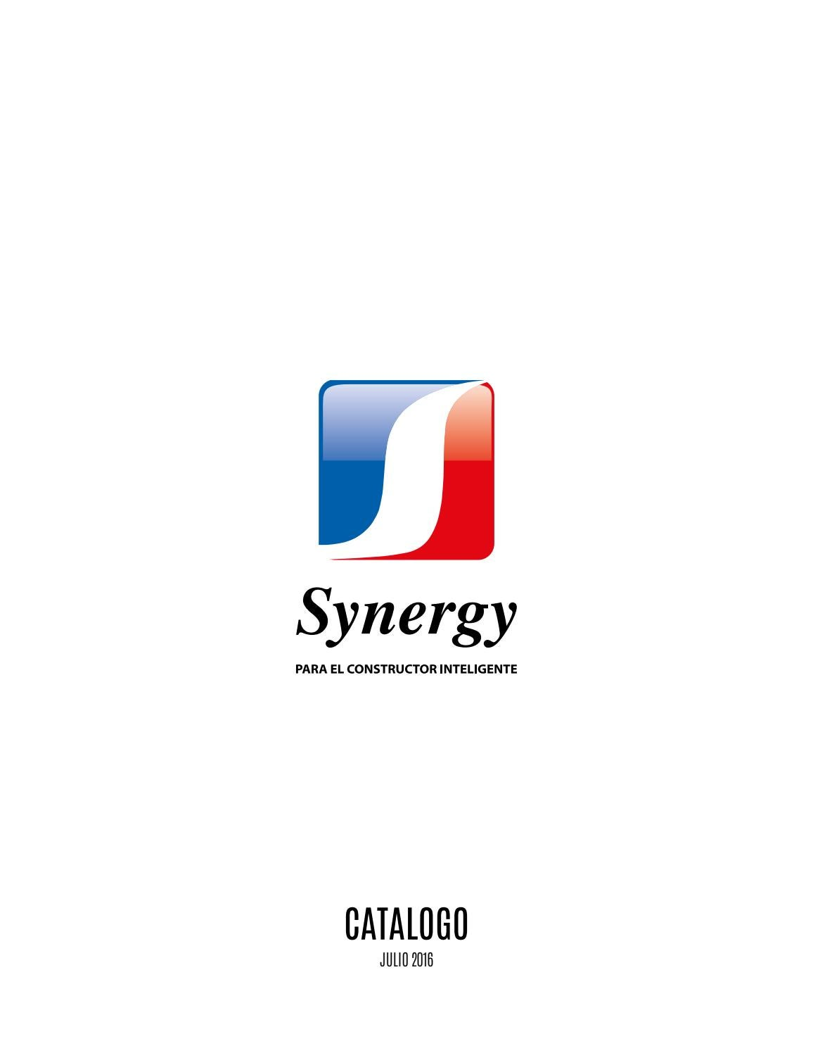 Catalogo Synergy 2016 By Synergy Issuu