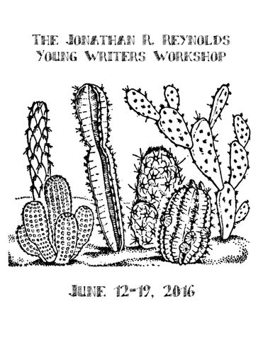 The Reynolds Young Writers Workshop At Denison University