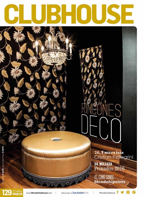 Revista Clubhouse Mendoza Edici N 129 Marzo By Revista  # Muebles Y Decoracion Tuzzi