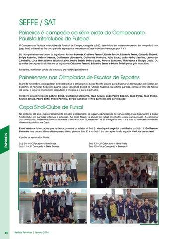 SEFFE   SAT Paineiras é campeão da série prata do Campeonato Paulista  Interclubes de Futebol O Campeonato Paulista Interclubes de Futebol de  Campo febd86dee0a23