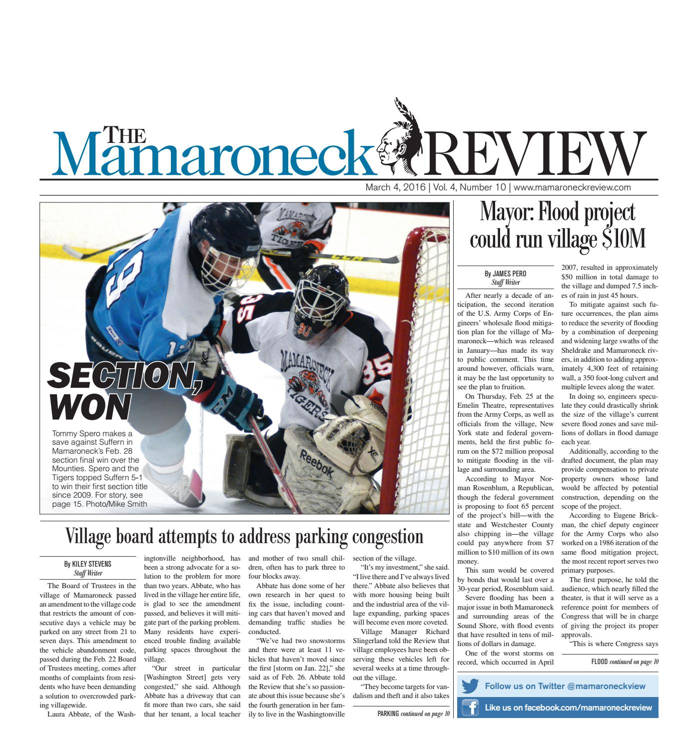 March 4, 2016 by The Mamaroneck Review - issuu