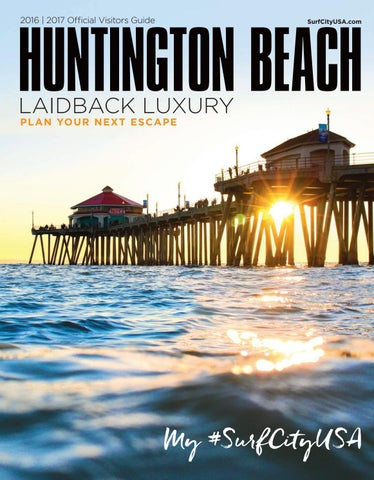 2016 | 2017 Official Visitors Guide. HUNTINGTON BEACH ...