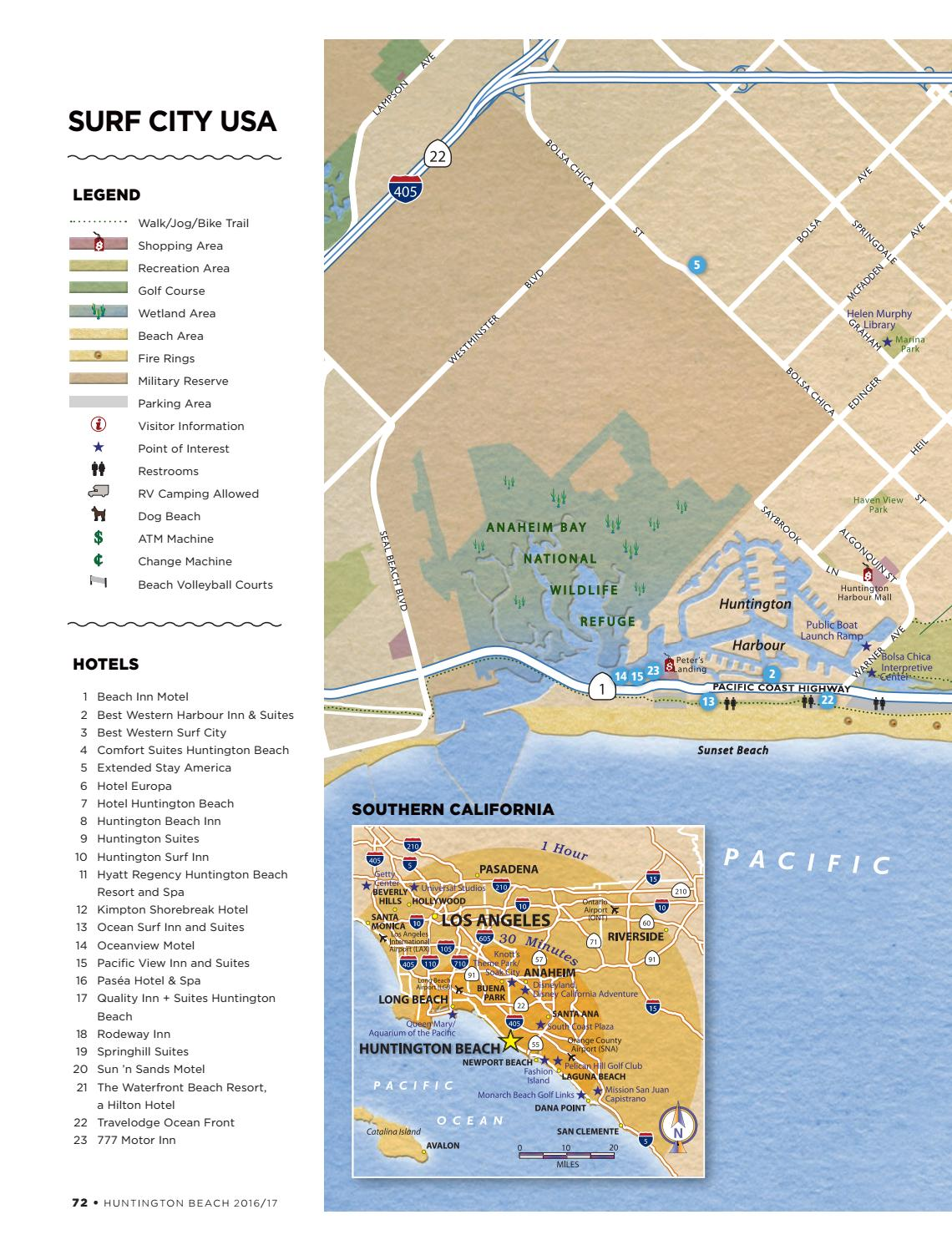 Huntington Beach 2016   2017 Official Visitors Guide by Orange Coast Magazine - issuu